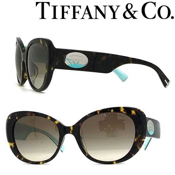 Tiffany & Co. サングラス ティファニー レディース グラデーションブラウン TF4153F-80153B ブランド