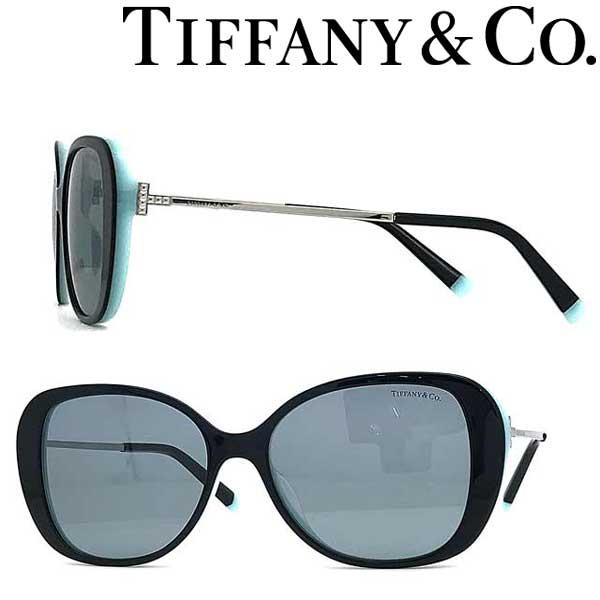 Tiffany & Co. サングラス ティファニー レディース ブラック TF4156F-80551 ブランド