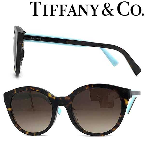 Tiffany & Co. サングラス ティファニー レディース グラデーションブラウン TF4164F-80153B ブランド