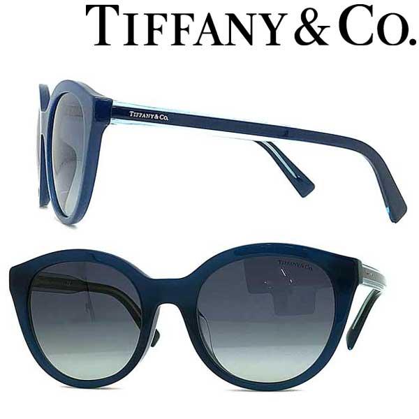 Tiffany & Co. サングラス ティファニー レディース グラデーションブルー TF4164F-82954L ブランド