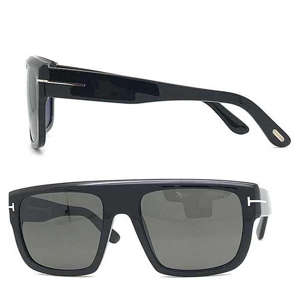 TOM FORD サングラス UVカット トムフォード メンズ&レディース Alessio ブラック TF-0699-01A ブランド