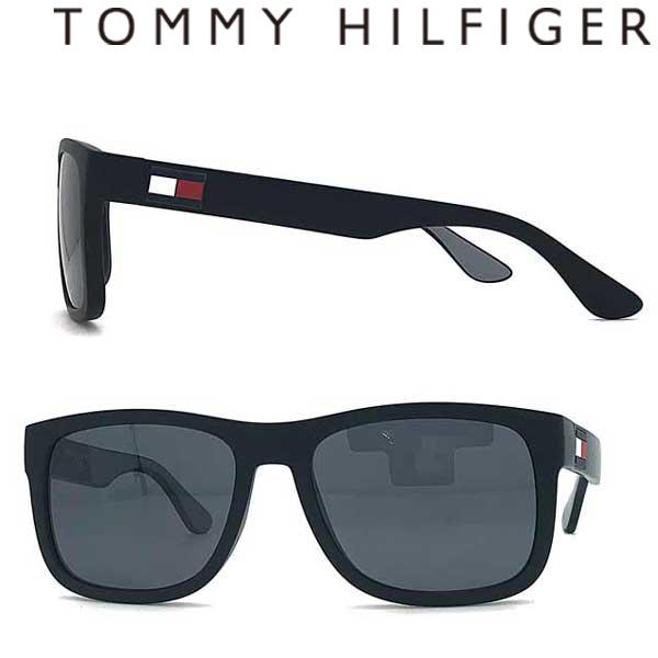 TOMMY HILFIGER サングラス UVカット トミーヒルフィガー メンズ&レディース ブラック TO-1556S-08A-IR ブランド
