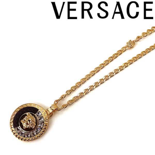VERSACE ネックレス ベルサーチ メンズ&レディース メドゥーサ ロゴ ゴールド DG17721-DJRX-DNCOD ブランド