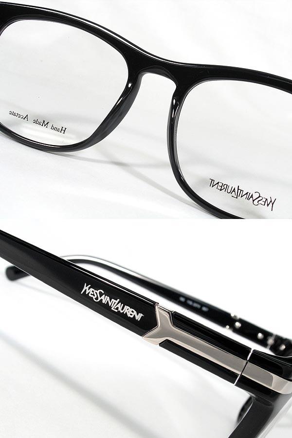 a0d116d2ed Glasses frame Yves Saint Laurent YSL YVES SAINT LAURENT eyeglasses glasses  black x silver YSL-2274-807 □ □ price □ □ branded mens  amp  ladies   men  for ...