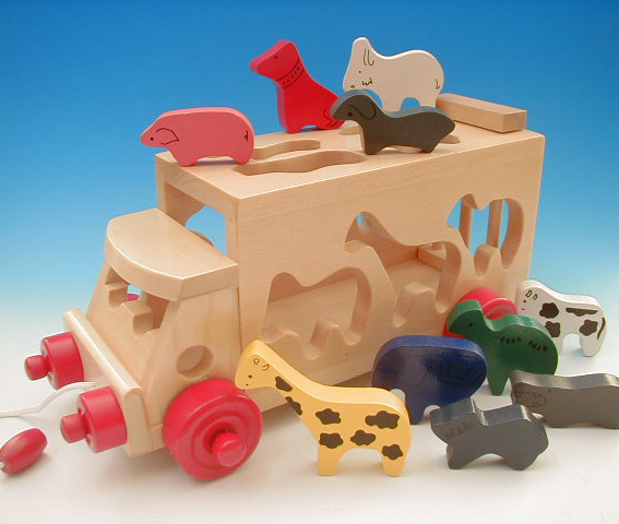 Funny Friends And Fun Talk Seems Born Wooden Toys QuotSafari Bus New Baby