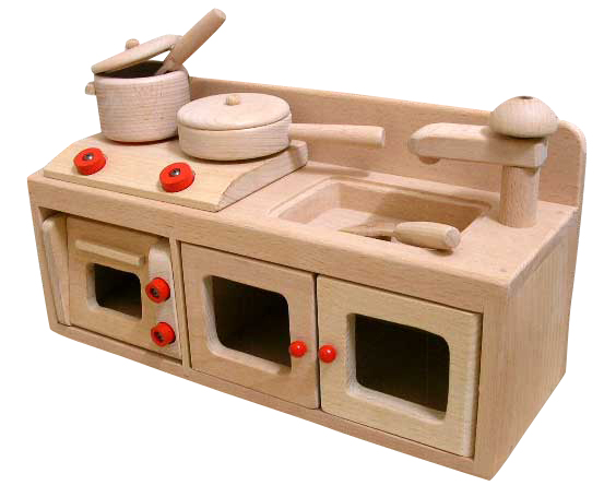 House Set Pretend Play Kitchen Set Wooden Kitchen Set Wooden Toys House  Kitchen Baby (