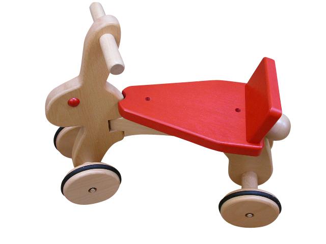 乗用玩具 ラビット 日本製 木のおもちゃ コイデ 赤ちゃん ベビー 幼児 おもちゃ 1歳 2歳 1才 2才 誕生日プレゼント 木製 出産祝い
