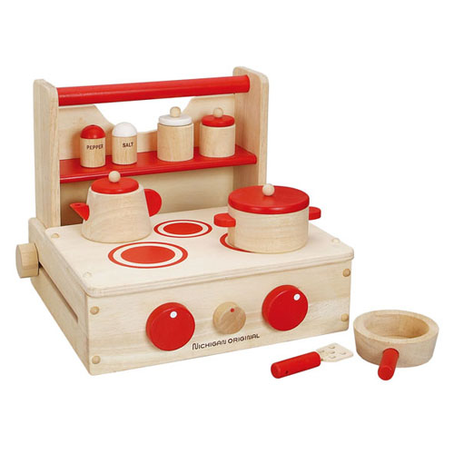 Woodpal rakuten global market cooking set toy play for Best kitchen set for 4 year old