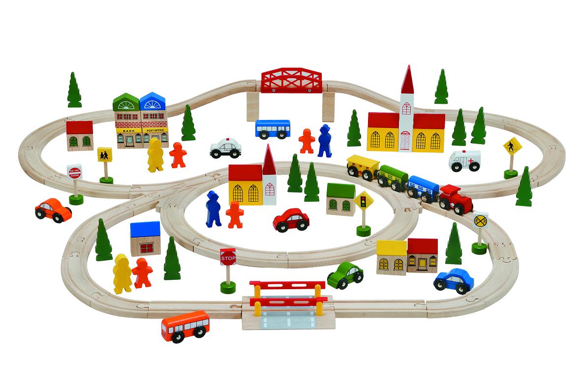 Rail Train Set 2 100 Pcs Baby Gifts 3 Woodpal Rakuten Global Market Total Fab Best For E Year Old Boys 1 Boy Birthday Drive