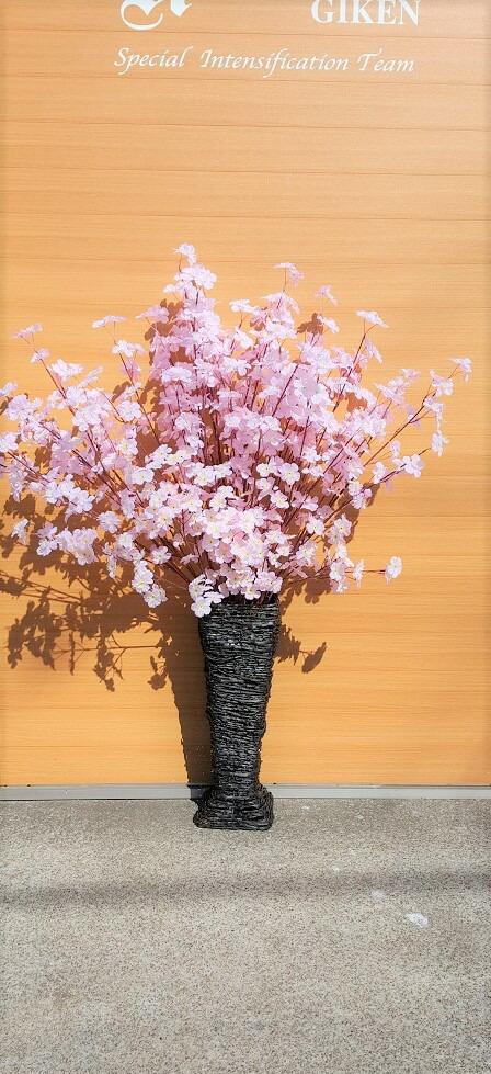 造花サクラサクラスタンド春満開デイスプレイ装飾送料無料高さ130cm