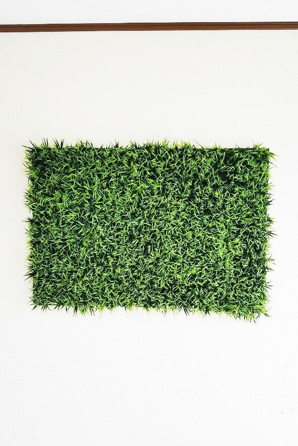 【人工観葉植物】【壁面緑化】【グリーンパネル】【触媒加工】【幅90cm縦60cm】【強力両面テープ付】【どの壁でも簡単に設置】【送料無料】