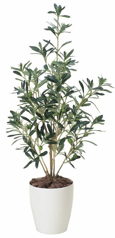 光触媒オリーブ90/人工観葉植物/光触媒加工/送料無料/代引き不可