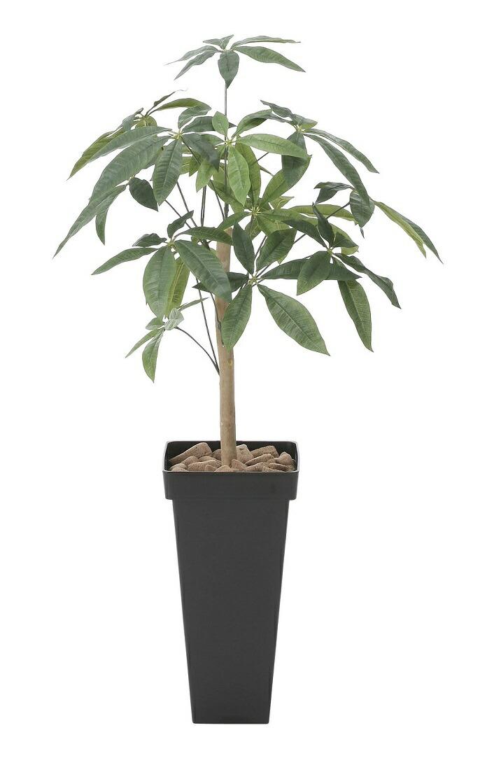 【人工観葉植物】【スリムパキラ1.0】【100cm】【光触媒加工】【送料無料】【フェイクグリーン】【代引き不可】