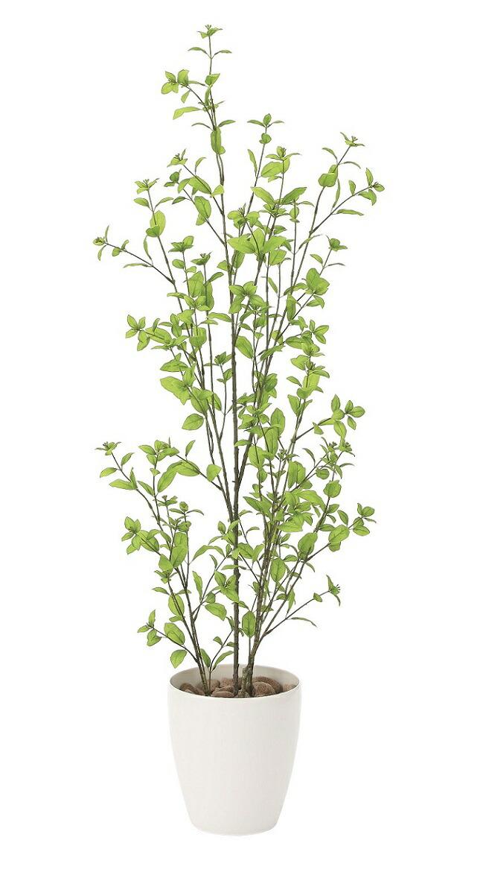 【人工観葉植物】【ユ―カリ1.3】【1.3m】【光触媒加工】【送料無料】【フェイクグリーン】【代引き不可】