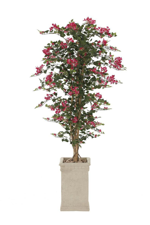 人工観葉植物 ブーゲンビリア 1.6m 光触媒加工 送料無料 ブーゲンビリア 1.6m フェイクグリーン 代引き不可