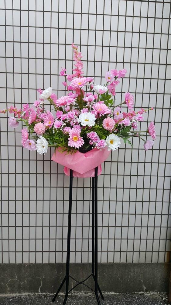 【造花】【スタンドフラワー】【開店花】【店舗装飾】【触媒加工】【送料無料】