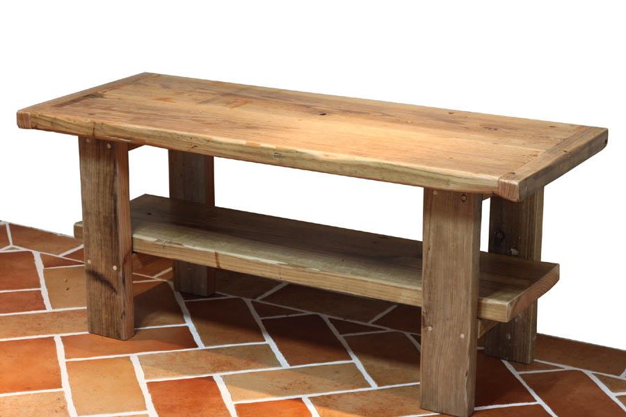 OLD ASHIBA(足場板古材)Hシリーズ センターテーブル幅610~700mm×奥行400mm×高さ435mm 塗装仕上げ【受注生産】 【小型商品】
