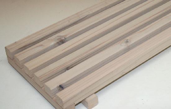 花台棚板B(細桟)タイプ 900-6P幅900mm×奥行252mm 【小型商品】
