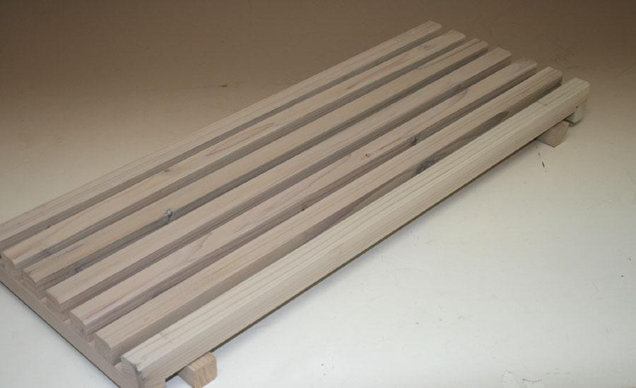 花台棚板B(細桟)タイプ 750-7P幅750mm×奥行294mm 【小型商品】