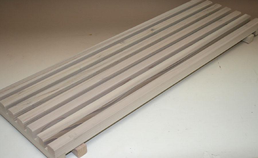 花台棚板B(細桟)タイプ 900-7P 幅900mm×奥行294mm 【小型商品】