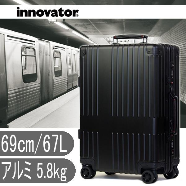 d0237c6e5f (アルミキャリー) INV1017 スティールシルバー イノベーター スーツケース innovator (36L、51cm) (TSAロック  アルミニウムボディ)