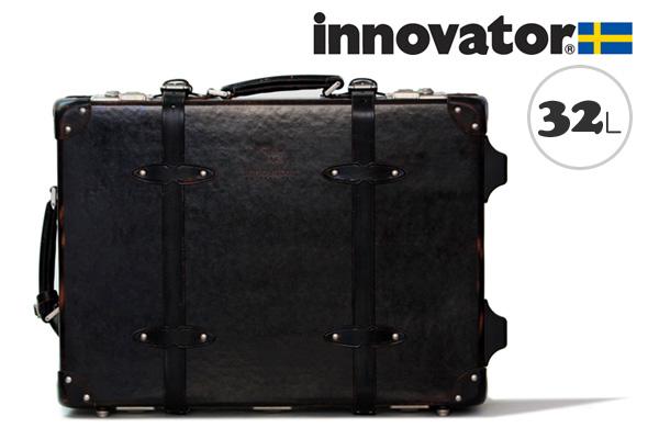 イノベーター スーツケース innovator ヴィンテージトランク(32L、50cm) ブラック