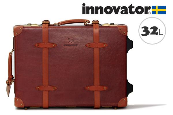 イノベーター スーツケース innovator ヴィンテージトランク(32L、50cm) ブラウン