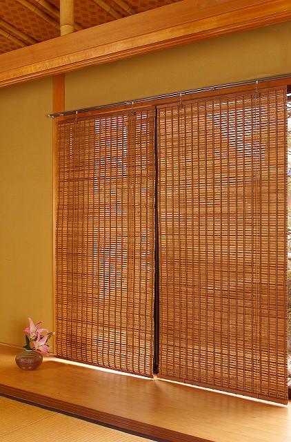 ロールスクリーン スクリーン 海外並行輸入正規品 カーテン 間仕切り 目隠し カントリー 和 アジアン 窓 バンブースクリーンRC-1240 新作販売 激安 送料無料 竹 癒し 天然素材
