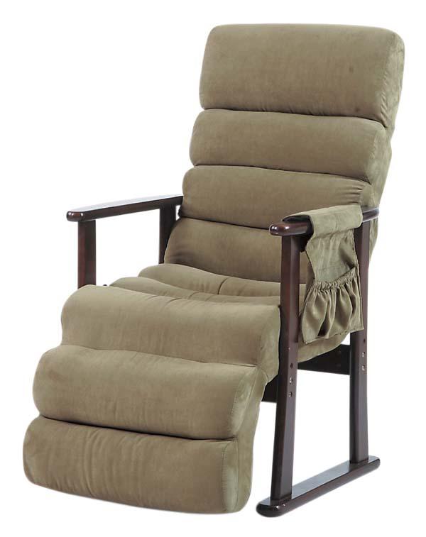 リクライニングチェア 一人掛け 椅子 70【送料無料】