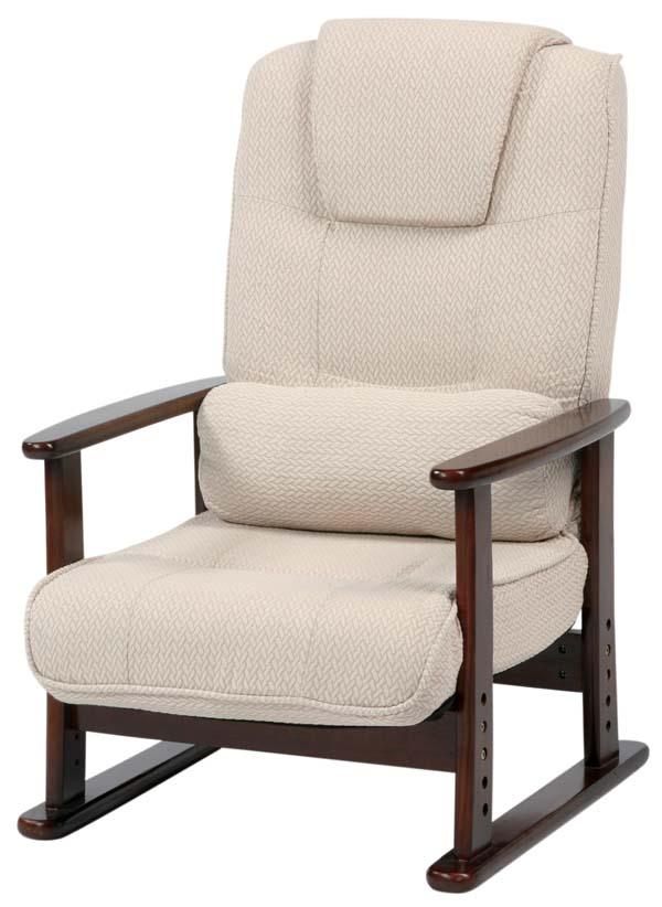 リクライニングチェア 一人掛け 椅子 らくらくチェア 76【送料無料】