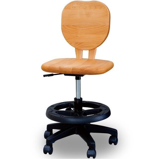 学習椅子 アルダー材 オイル仕上げ チェアーアップル 【送料無料】【smtb-k】【ky】