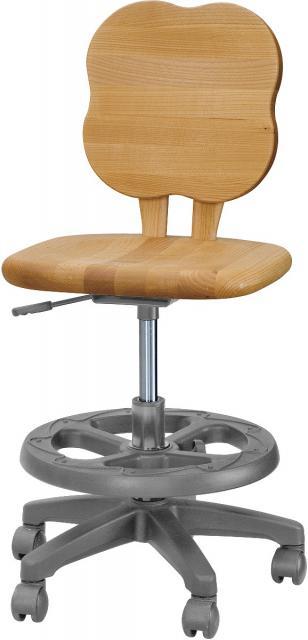学習椅子 アルダー材 オイル仕上げ チェアーリーフ 【送料無料】【smtb-k】【ky】