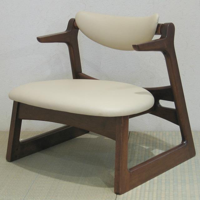 らくらく椅子 キャスパーチェア 疲れにくい 椅子 H32cm【送料無料】【smtb-k】【ky】
