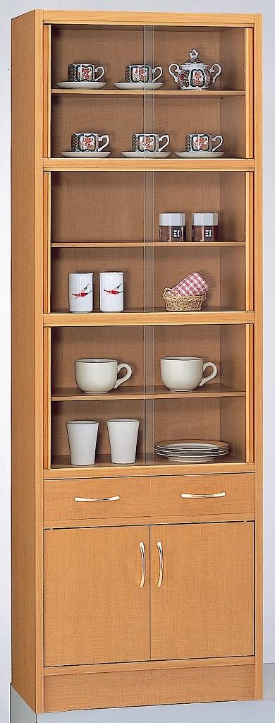 食器棚 薄型 食器棚60 完成品 日本製 【送料無料】