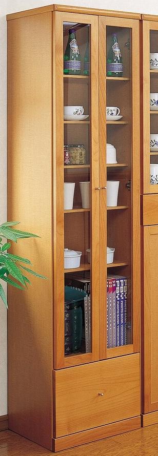 スリム キャビネット 45 書棚 完成品 日本製【送料無料】【smtb-k】【ky】