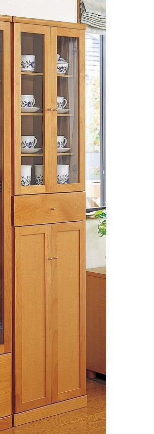 スリム キャビネット 45 食器棚 完成品 日本製【送料無料】【smtb-k】【ky】