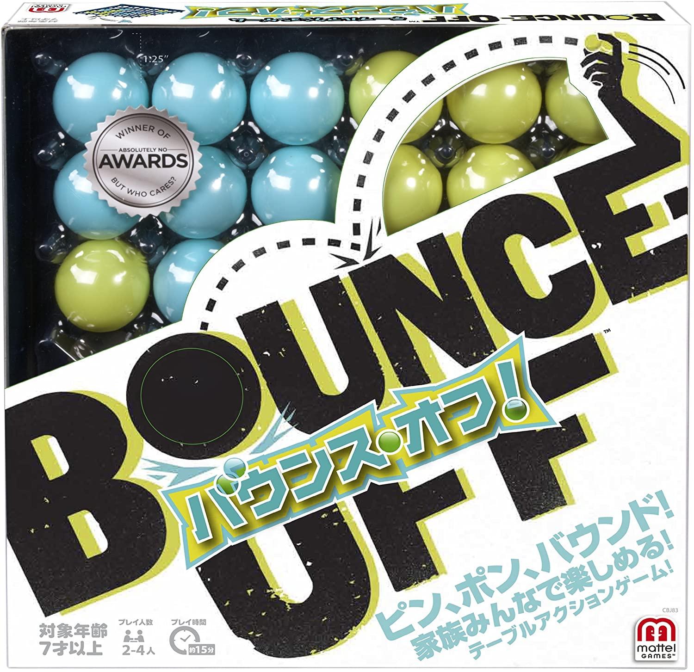 トラスト 家族みんなで楽しめる 新感覚テーブルアクションゲーム バウンスオフ 新生活 BOUNCE OFFマテル ボードゲーム MATTEL