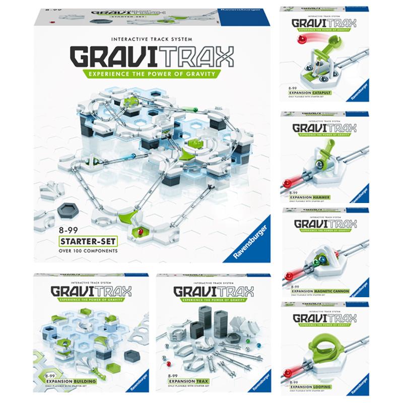 GraviTrax 7点フルセット(グラヴィトラックス)|Ravensurger (ラベンスバーガー社)