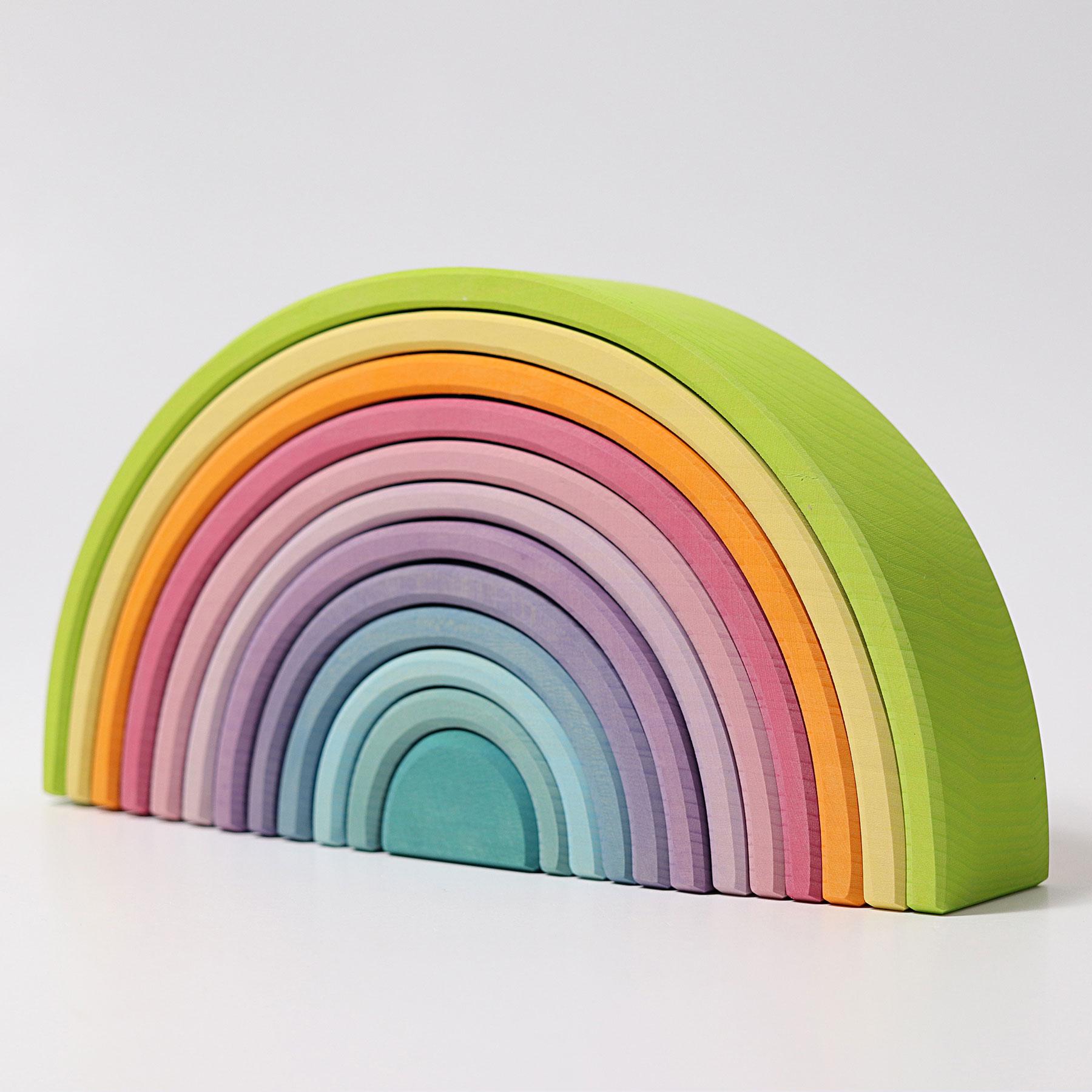 美しい色彩が子どもの創作やデザインの能力を刺激 パステルアーチ GRIMM'S 割り引き 大グリムス社 スーパーセール期間限定