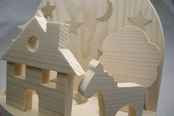 キーナー社のナイトランプ 白木