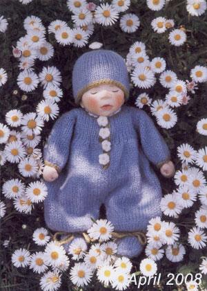 ポングラッツ人形 ベビー中