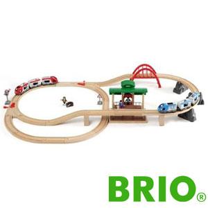 BRIO トラベルレールセットブリオ 33512