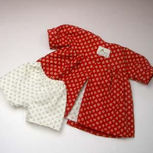 ジルケ人形(大)別売り洋服 女の子赤花