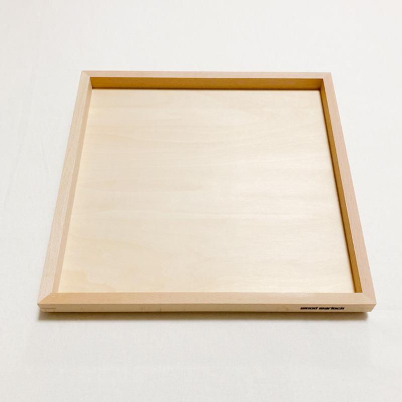 ウッドワーロックオリジナル OUTLET 全品最安値に挑戦 SALE 積み木収納トレイ おもちゃ箱