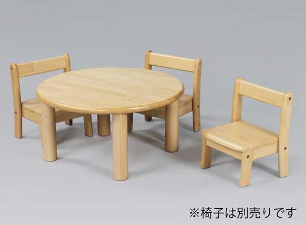 ブロック社 丸テーブル 60cm 単品高さ30~51cm丸脚 【沖縄は別途送料がかかります。詳細はお問合せ下さい】