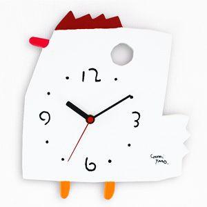 五味太郎デザイン 絵本の時計にわとり