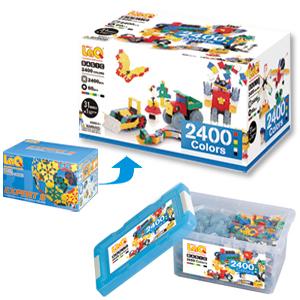 LaQ(ラキュー)Basic colors2400(ベーシックカラーズ 2400)