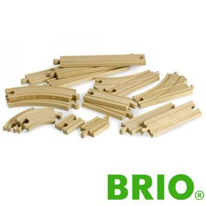 BRIO 追加レールセット2ブリオ 33402 レールパーツ
