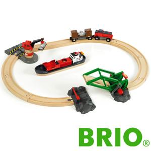 BRIO カーゴハーバーセット ブリオ 33061 レールセット