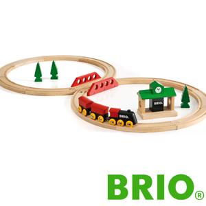 BRIO クラシックトラベル 8の字セット ブリオ 33028 レールセット